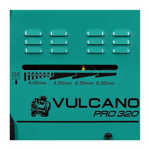 Imagem de Máquina de Solda Transformador Balmer Vulcano PRO 320 Bivolt