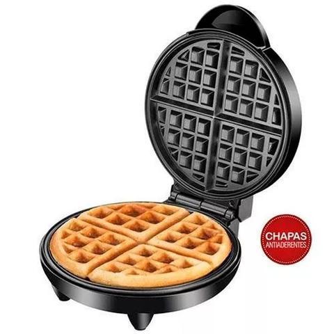 Imagem de Máquina De Waffle Crocante Mondial Maker 1200w Antiaderente