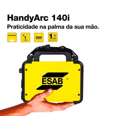 Imagem de Maquina Inversora De Solda Esab Handyarc 140i -140a 220v