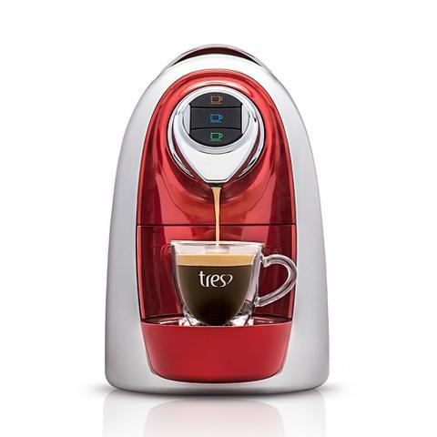 Imagem de Máquina para Café Espresso 3 Corações Modo Vermelha 110V
