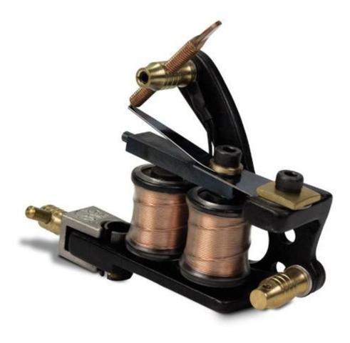 Imagem de Máquina Para Tatuagem Nano Dial Pintura Black Electric Ink