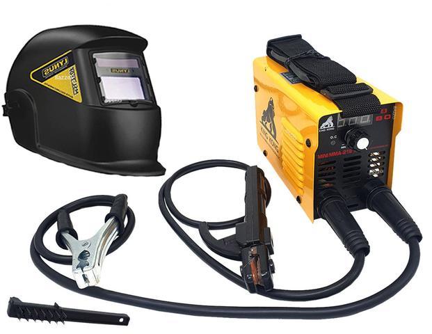Imagem de Maquina Solda Inversora Mini 219 Mma Tig Mascara Escurecimento Automático Lynus