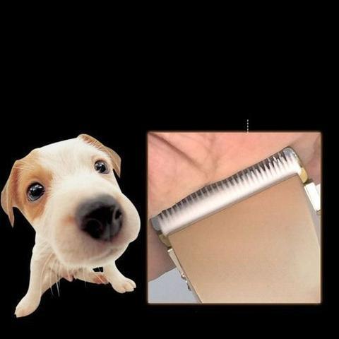 Imagem de Maquina Tosa Cortar Pelos Profissional Tosar Pet Caes Gato