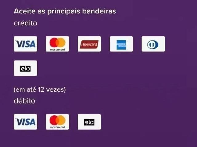 Imagem de Maquininha de cartão  TOTAL WI-FI/3G imprime Recibos