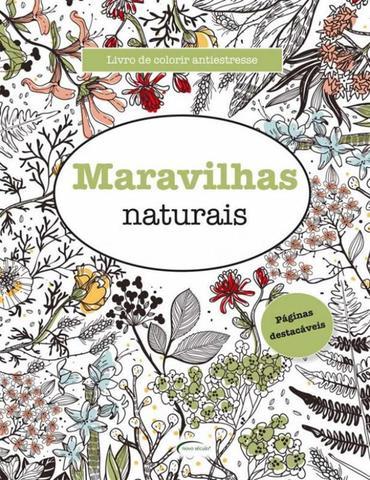 Imagem de Maravilhas naturais - livro de colorir antiestresse - NOVO SECULO