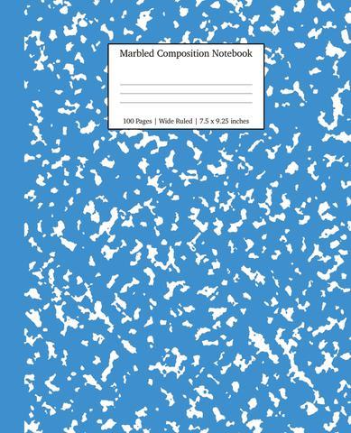 Imagem de Marbled Composition Notebook