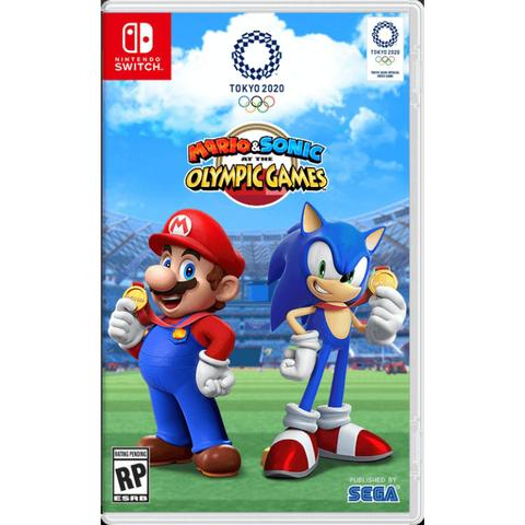 Jogo Mario Sonic At The Olympic Games: Tokyo 2020 - Switch - Nintendo