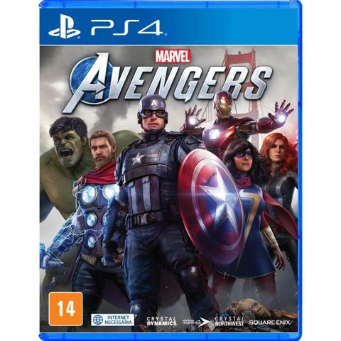 Jogo Marvel Avengers - Playstation 4 - Square Enix