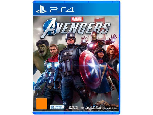 Imagem de Marvels Avengers para PS4 Crystal Dynamics