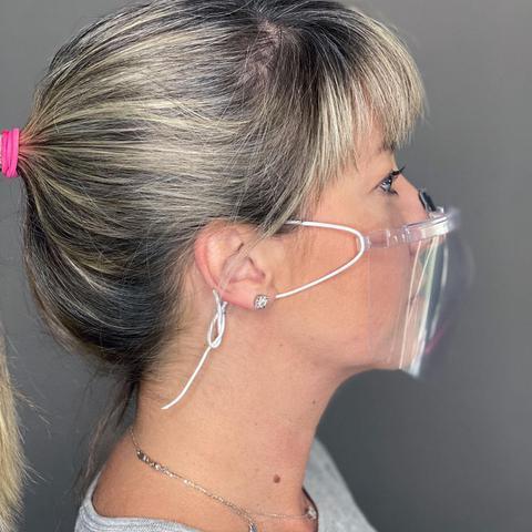 Imagem de Máscara Cristal de Proteção Lavável
