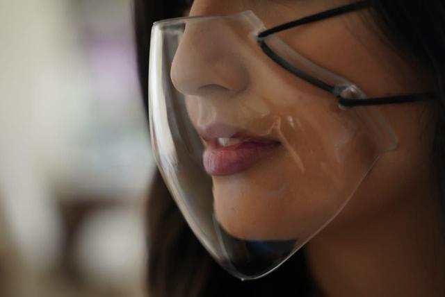 Imagem de Mascara De Proteção Cristal Lavável Ajustavel