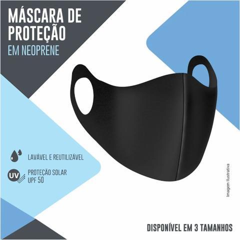 Imagem de Mascara de Proteção Prática Esportiva Em Neoprene Reutilizável