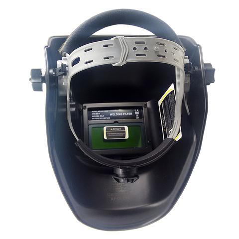 Imagem de Mascara De Solda Eletronica Com Regulagem 9 A 13 Black Piano - 0000158 - Apollo