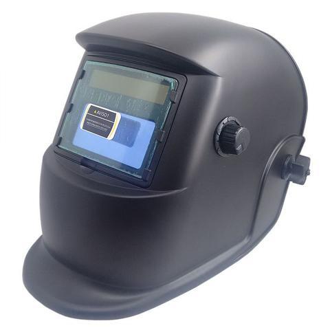 Imagem de Máscara de Solda Eletrônica com Regulagem 9 A 13 Preto Fosco - Apollo