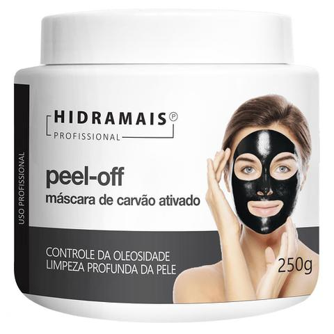 Imagem de Máscara Facial Hidramais - Peel-off Carvão Ativado