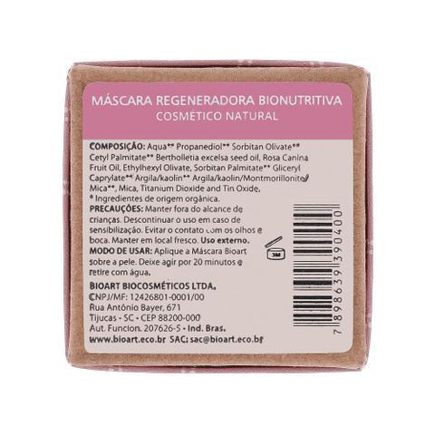 Imagem de Máscara Facial Natural Regeneradora Bionutritiva de Argila Rosa, Castanha e Rosa Mosqueta 30ml  Bioart