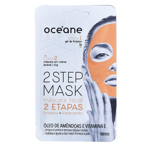 Imagem de Máscara Facial Océane - Dual-Step Mask Amêndoas e Vitamina E