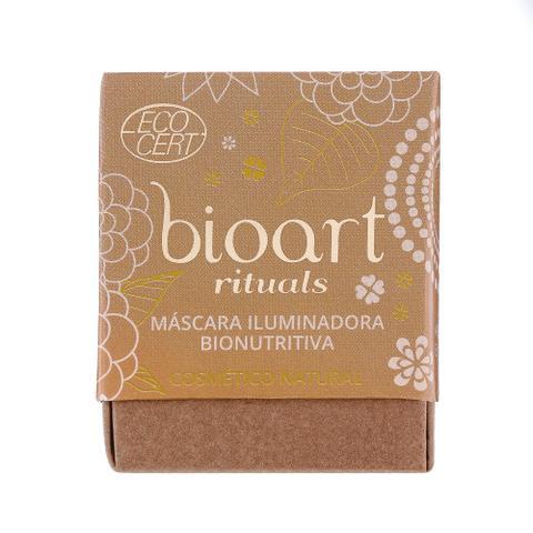 Imagem de Máscara Facial Orgânica Iluminadora Bionutritiva de Argila Dourada e Castanha do Pará 30ml  Bioart