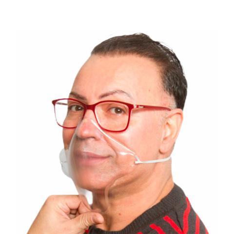 Imagem de Máscara Proteção Transparente 8 Un E 1 Antiembaçante Óculos