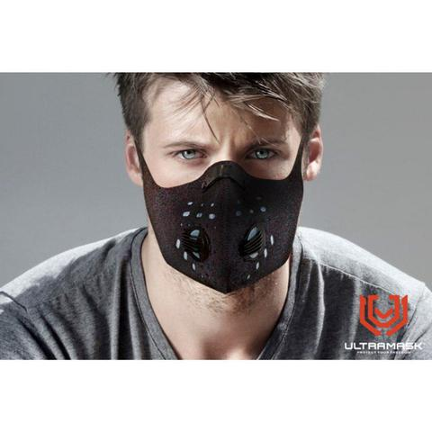 Imagem de Mascara Protetora Esportiva UltraMask Strong Filtro Duplo - Preto