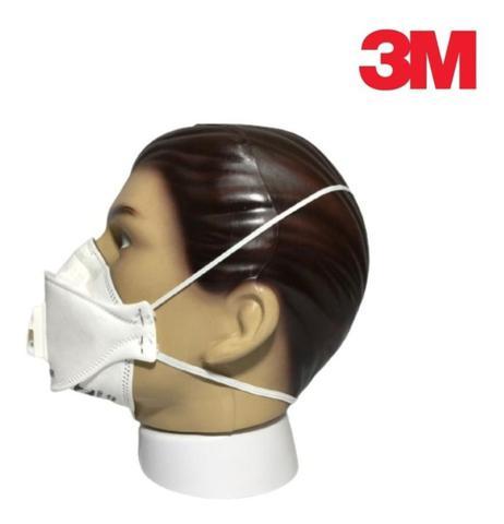 Imagem de Máscara Respiratória 3M Pff2 N95 Aura 9322 Anvisa Inmetro