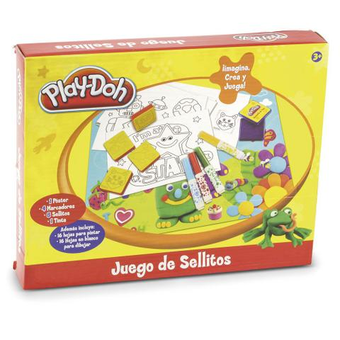 Imagem de Massa de Modelar - Play-Doh - Conjunto de Carimbos - DTC