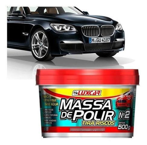Imagem de Massa De Polir Carro Tira Riscos Pasta N2 Extra Fina 500g