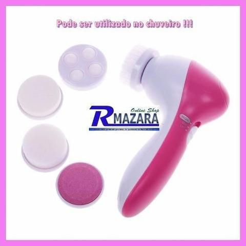 Imagem de Massageador Automático Facial 5 Em 1 Removedor De Maquiagem