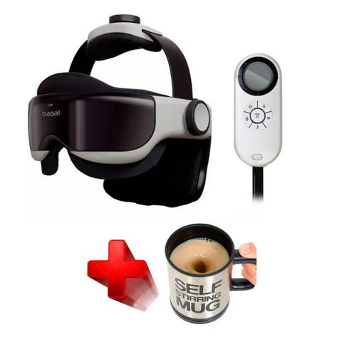 Imagem de Massageador Eye Head Massager Idream 1260 Marca: Basal + Brinde Caneca Automática Original Stirring Mug