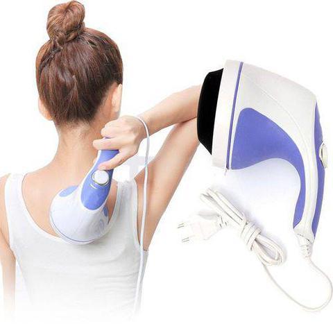 Imagem de Massageador Orbital Modelador Portátil - Afina a Cintura, Drenagem Linfática p/ Celulite, Flacidez, Elimina Fadiga, Perca Medidas c/ Saúde 110V