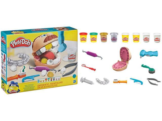 Imagem de Massinha Play-Doh Brincando de Dentista Hasbro