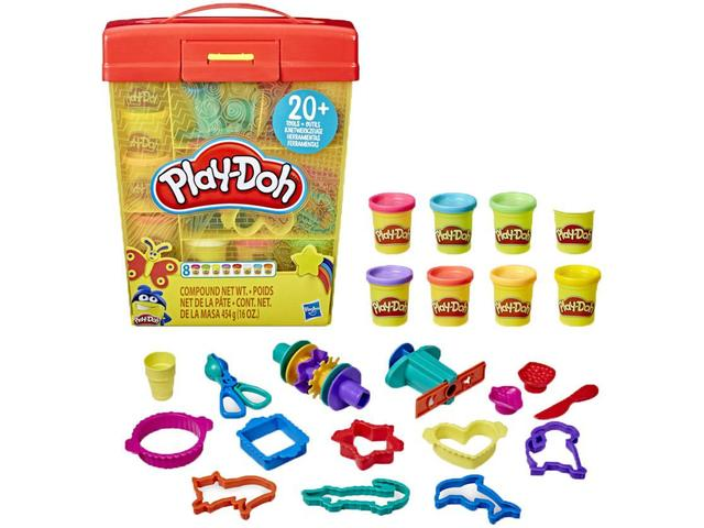 Imagem de Massinha Play-Doh Maleta Hasbro com Acessórios