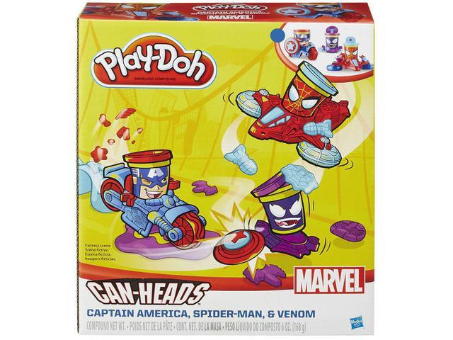 Imagem de Massinha PlayDoh Marvel Pote Veículo