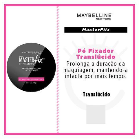 Imagem de MASTER FIX  - Pó fixador Maybelline Face Studio