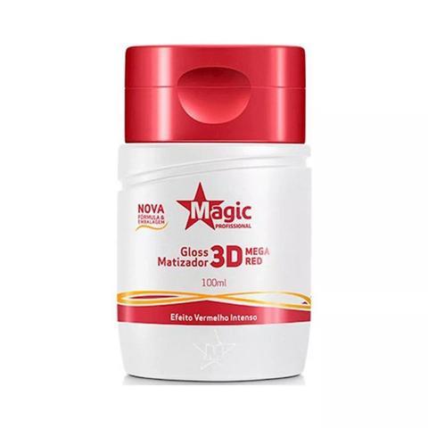 Imagem de Matizador Magic Color Gloss 3D Mega Red Efeito Vermelho Intenso 100ml