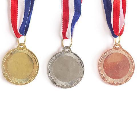 Imagem de Medalha AX Esportes 40mm Honra ao Mérito Alto Relevo Dourada Dupla-Face - FA471 (Pç)