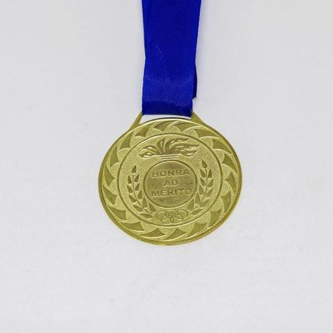 Imagem de Medalha Honra ao Mérito Ouro com Fita 40mm Zona Livre