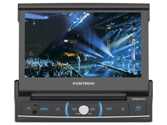 Imagem de Media Player Automotivo Pósitron SP6520LINK LCD 7""