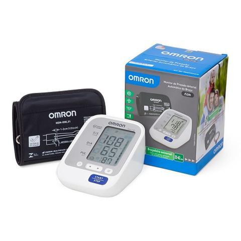 Imagem de Medidor de Pressão Automático Digital Braço Premium Omron HEM-7122