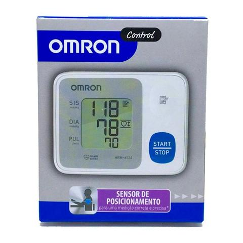 Imagem de Medidor de Pressão Digital Pulso Omron Hem-6124