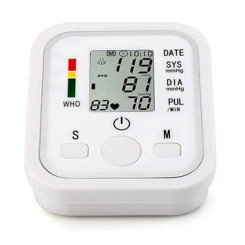 Imagem de Medidor Monitor Automático De Pressão Arterial Braço