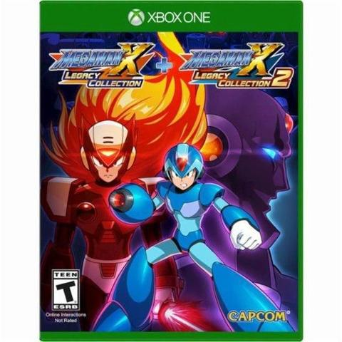 Jogo Mega Man X Legacy Collection 1+2 - Xbox One - Capcom