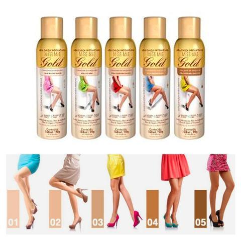 Imagem de Meia Calça Instantânea 150ml Gold Nylons - Spray Bronzeador