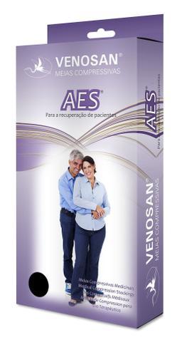 Imagem de Meia Hospitalar 7/8 (Meia Coxa) Unissex Anti-trombo e Anti-embolia (18 mmHg) AGH Esterilizada AES - Venosan