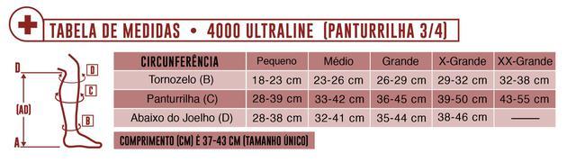 Imagem de Meia Panturrilha AD 20-30 mmHg Ultraline 4000 Venosan