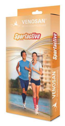Imagem de Meia Venosan SportActive 20-30 mmhg BD Preto Comprida
