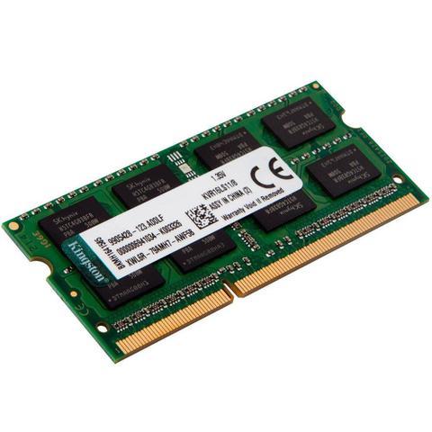 Imagem de Memoria ddr3 1600 mhz 8gb p/notebook kingston