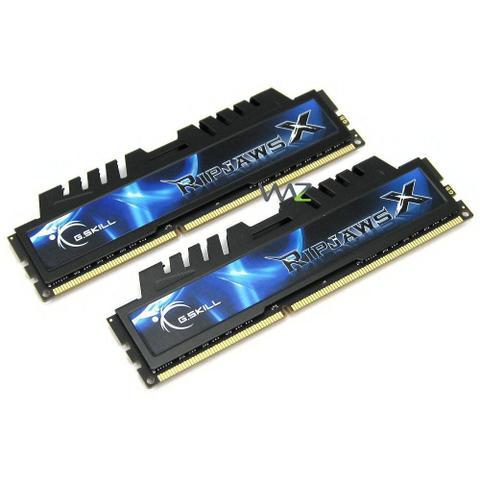 Imagem de Memória DDR3 -  8GB (2x 4GB) / 1.333MHz - G.Skill RipjawsX - F3-10666CL7D-8GBXH