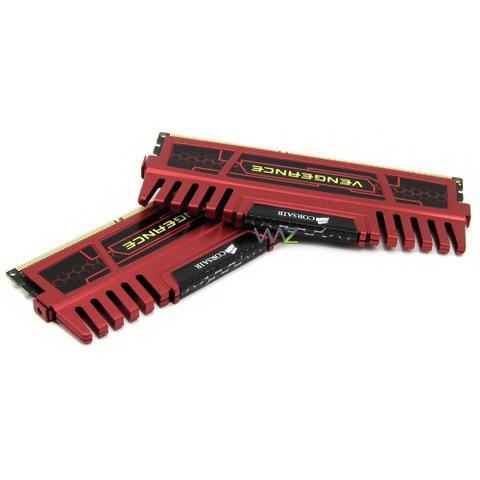 Imagem de Memória DDR3 -  8GB (2x 4GB) / 1.600MHz - Corsair Vengeance - CMZ8GX3M2A1600C9R