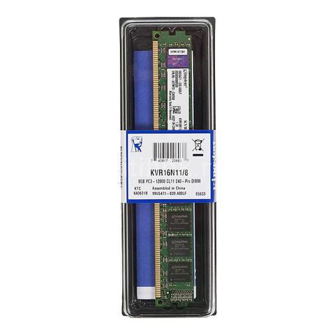 Imagem de Memória Desktop Kingston KVR16N11/8 8GB 1600MHZ DDR3